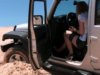 Car Stuck -test Drive Trouble