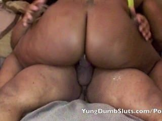 Daddy Gets A Thick, Red Yds (yung Dumb Slut)
