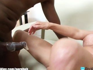 Interracial cumshot compilation