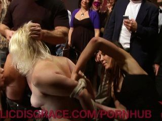 Filthy Sluts Pounded In Public
