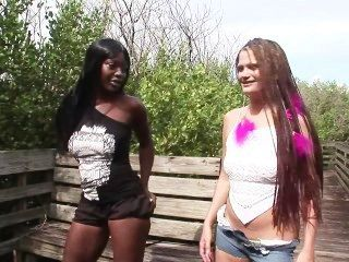 Interracial Dream Girls - Scene 6