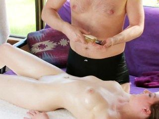 Hot Babe Gets Massaged And Fucked