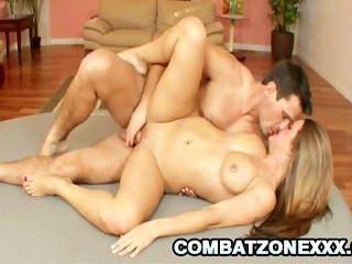 Teen Babe Megan Fenox Pleasuring An Uncut Cock