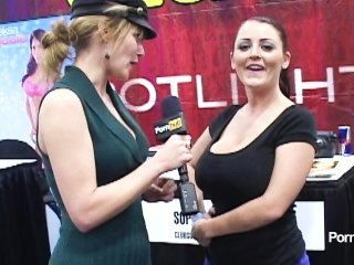 Pornhubtv Sophie Dee Interview At Exxxotica 2012