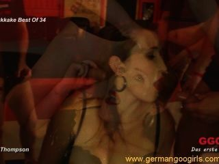 Sizzling Hot Bukkake Orgies With Brunette Jizz Lovers