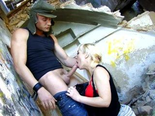 Aleska Diamond Fucks A Drunk Hobo