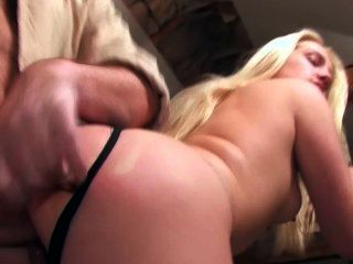 Slender French Girl Gets Face Pasted With Jizz