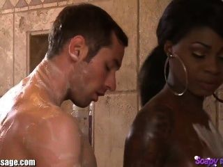 Nurunetwork shy boy gets first nuru massage 8