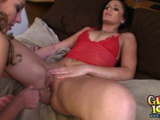 Real Lesbian Strapon Orgasm By Submissive Wet Female