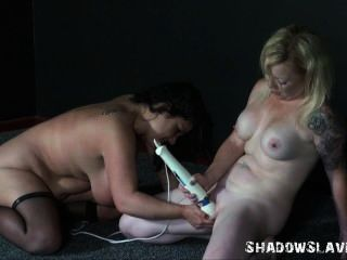 Enslaved Lesbian Toying And Girls Vibrator Sex Of Chubby Amateur Andrea