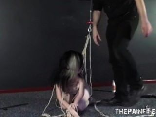 Hardcore Slave Sex And Submission Of Fucked Slave Tied And Used