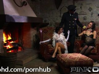 Hot And Horny Threesome Italian Style