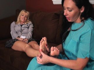 Iwf- The Horny Podiatrist