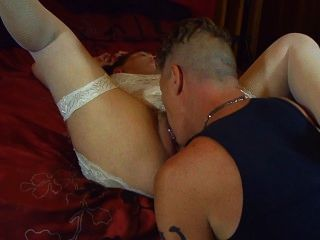 Cum Dripping Off My Ass, Down My Thigh.thepinuppunk!