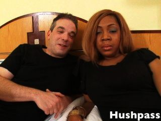Hot Amateur Black Teen Loves Old White Dick