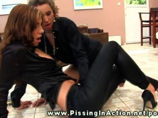 Jetset Lady Pisses Over Her Girlfriend