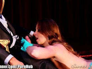 Sweetsinner Redhead Stripper Fucks Her Boss