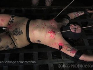 Mollie Rose Bound, Vibrated And Wax Play