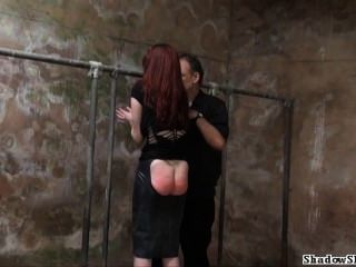 Filthy Slaveslut Whipping And Dirty Dungeon Tortures Of Breast Spanked