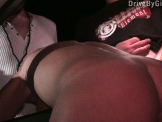 Pretty Girl At A Public Gangbang With Anonymous Guys Part 2