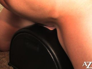 Sexy Little Redhead Loves Her Sybian Orgasm