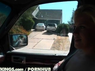 Reality Kings - Kierstin Has Some Fun In The Car