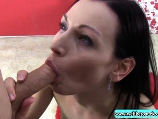 Blowjob Loving Amateur Sucking Cock