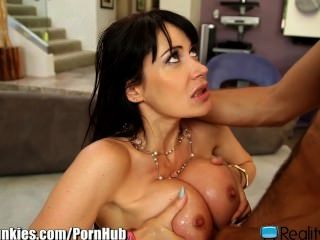 French Milf Fucks College Boy