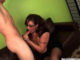 Busty Milf Babe Gets Fucked Hard