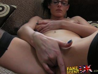 Fakeagentuk Deep Throating, Rimming And Fucking For Casting Latecomer