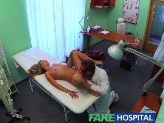 Fakehospital Doctor Finishes What The Nurse Started With A Creampie