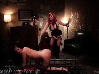 Lesbian Redhead Dominatrix Dungeon