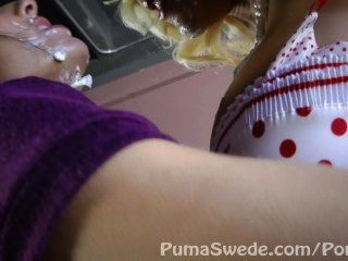 Sweet Pussy Pie! Busty Puma Swede & Milf Veronica Avluv!