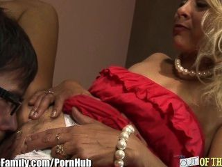 Blonde Mom Fucks Daughters Bf
