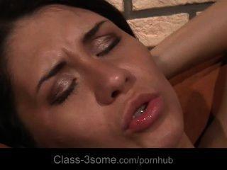 Nasty Boy Cheats Girlfriend For Hot Threesome