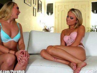 Girlstryanal Dakota Skye Makes Anal Lesbian Squirt