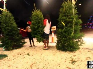 Jayla Foxx Fucking At A Xmas Tree Lot