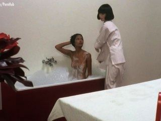 Laura Gemser, Koike Mahoco, Ely Galleani And Gaby Bourgois Nude
