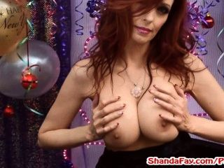 Fuck Me In The Ass For New Years! Milf Shanda Fay!