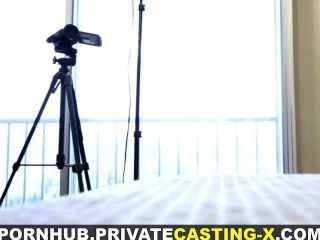 Private Casting-x - Teeny Welcomes Cock For Cash