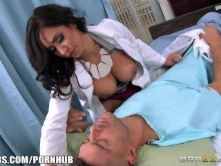 Brazzers - Doctor Isis Love Takes Two Cocks