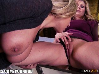 Brazzers - Hardcore Office Threesome