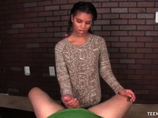 Sweet Teen Girl Pov Handjob