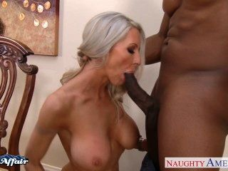 Busty Blonde Emma Starr Take Neighbor Cock