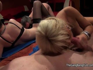 Teen Skinhead And Blonde At Sex Party