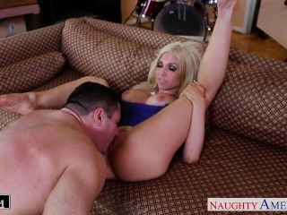 Busty Blonde Christie Stevens Take Cock