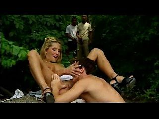 Jasmine Enjoys Groupsex Outdoors