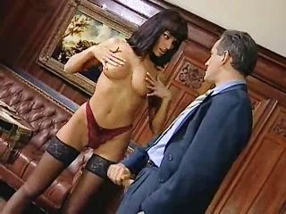 Anita Blonde Seduces Her Boss