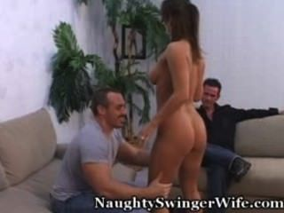 Swinger Wife Fucks Stranger