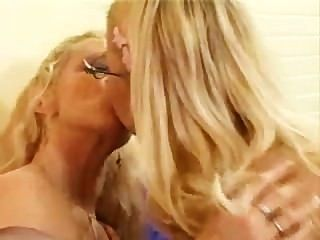 Mom & Daughter Dildo Play